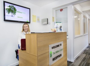 The Willow Centre reception