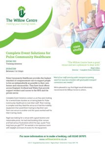 Pulse Community Healthcare case study