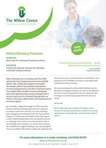 Hilton Nursing case study